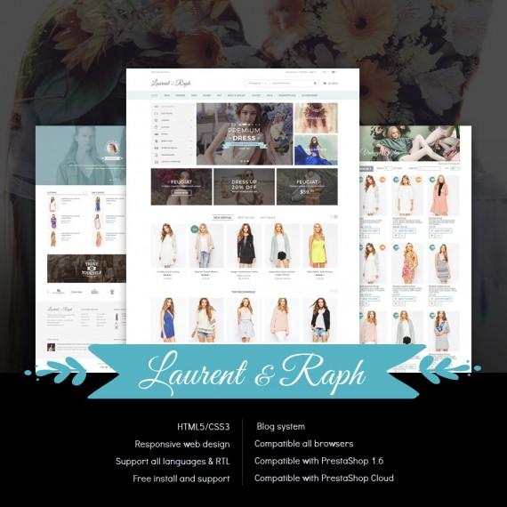 L&R Fashion Store PrestaShop Theme