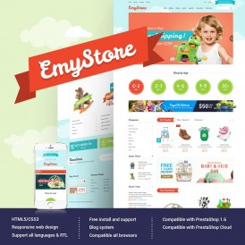 Kids & Children Prestashop Theme