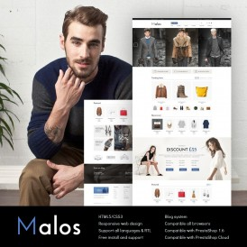Malos Fashion Prestashop Theme