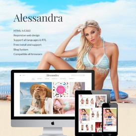 Bikini Shop Prestashop Theme