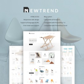 Furniture Store Prestashop Theme