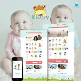Kids Store PrestaShop Theme