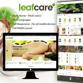 LeafCare - Bio Medical Prestashop Theme