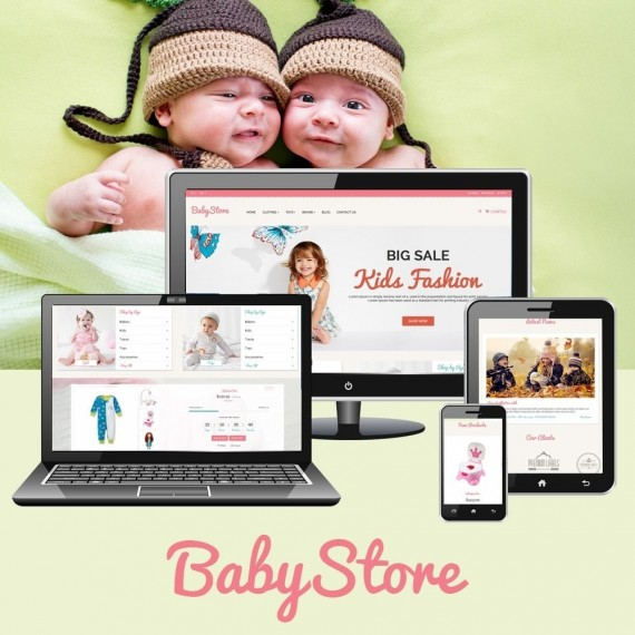 Smart Baby And Kids Prestashop Theme