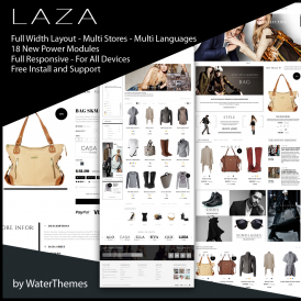 Laza Shop Prestashop Theme