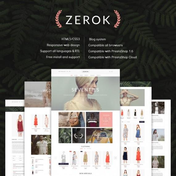 Zerok Fashion Store PrestaShop Theme