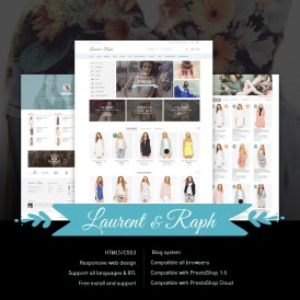 L&R Fashion Store PrestaShop Theme