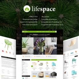 LifeSpace - Furniture Store Prestashop Theme