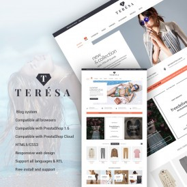 Water Teresa Fashion Prestashop Themes
