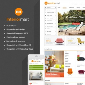 Furniture Responsive PrestaShop Theme