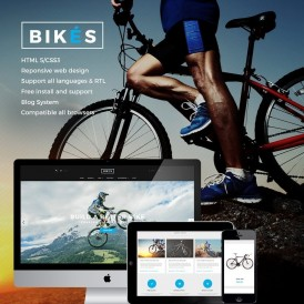 Water Bike Store Prestashop Theme