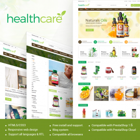 HealthCare Medical PrestaShop Theme