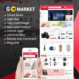 Go Market Prestashop 1.7 Theme