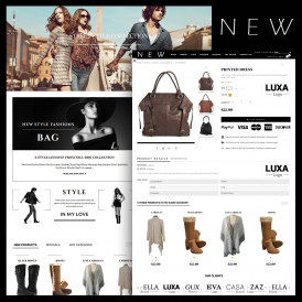 Newstyle Fashion Prestashop Theme