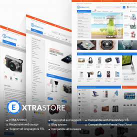 ExtraStore - Houseware PrestaShop Themes
