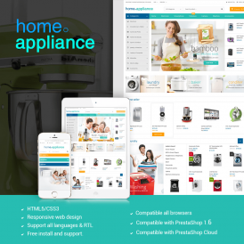 Home Appliances Prestashop Theme
