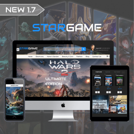 Star Games & Movie Prestashop 1.7 Theme