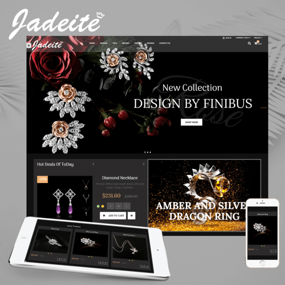 Jadeite - Jewelry Prestashop Theme