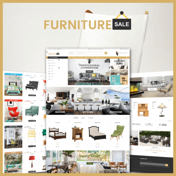 Furniture Save Prestashop 1.7 Theme