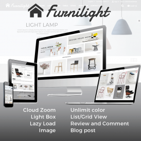Furniture Light Prestashop 1.7 Theme